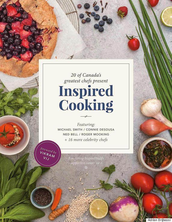 inspired cooking book