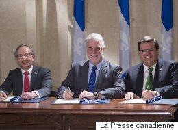 Décentralisation de pouvoirs de Québec vers Montréal: Coderre se dit satisfait