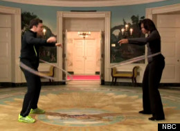 WATCH: Michelle Obama, Jimmy Fallon Face-Off At The White House