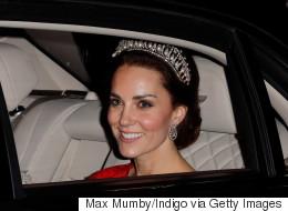 Kate Middleton Stuns In Princess Diana's Favourite Tiara