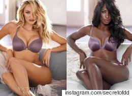 Model Recreates Famous Ads To Show Lack Of Diversity In Fashion