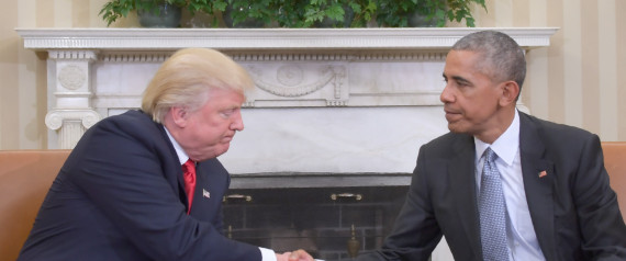 BARACK OBAMA MEETING DONALD TRUMP