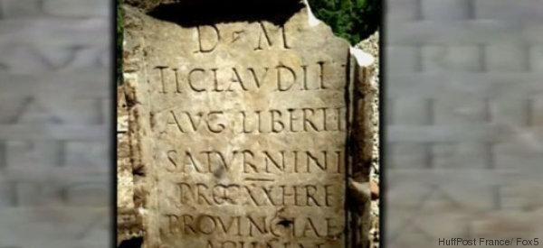 Mitten in New York fanden Bauarbeiter einen antiken römischen Grabstein - jetzt lösten Forscher das Rätsel