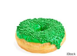 Der grüne Donut