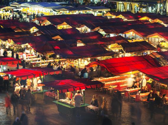 shopping morocco