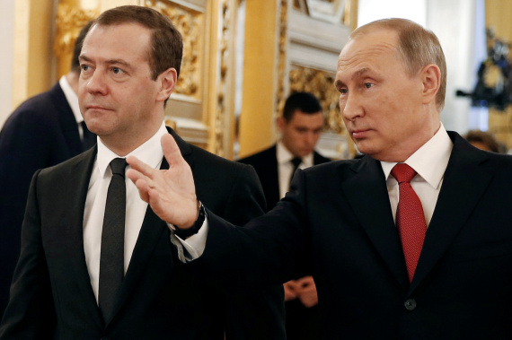 putin and medvedev
