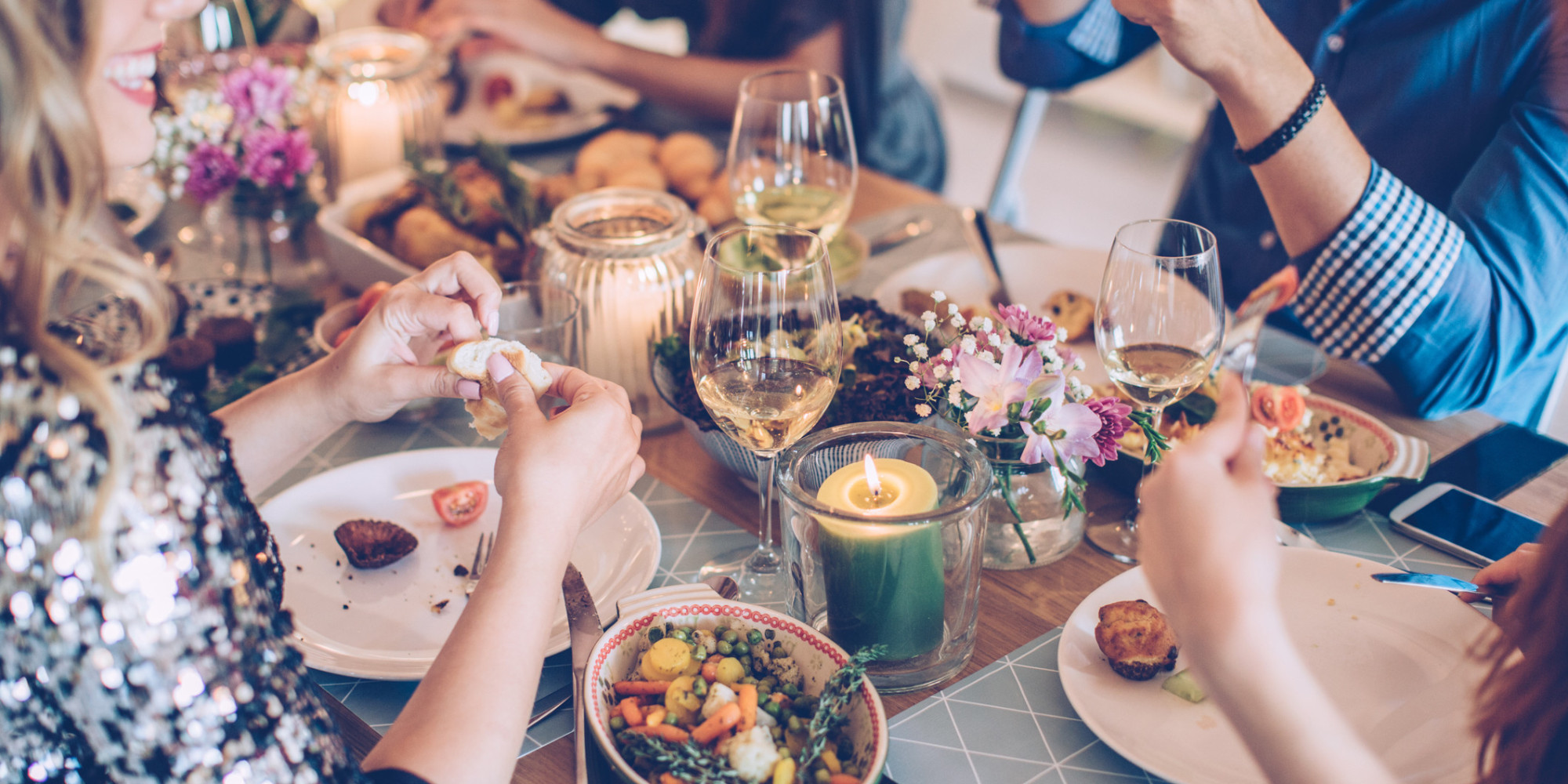 How not to overeat during the holiday season for Repas vite fait entre amis