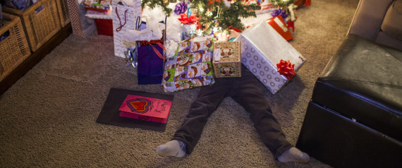 BURIED CHRISTMAS GIFTS