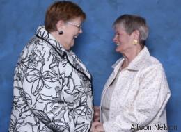 Deux arrière-grands-mères célèbrent 50 ans de vie de couple