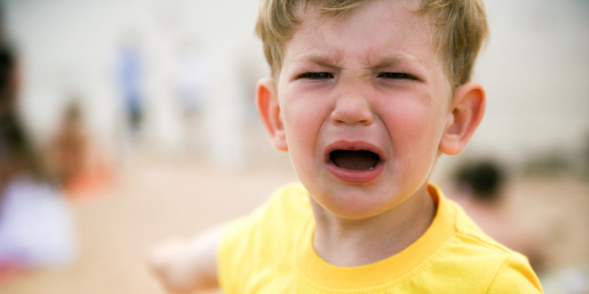 warum kinder nicht für einen wutanfall bestraft werden sollten