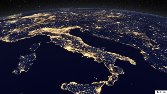 Bright Lights Big Money Satellite Pics Can Now Measure Economy - Real life satellite view
