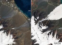 '세계의 지붕'이 7월 대붕괴 이후 빠르게 녹고 있다