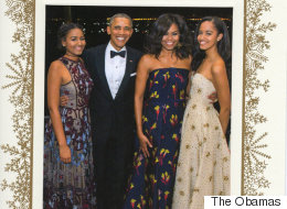 Trudeau Can Take Some Credit For The Obamas' Stunning Holiday Card