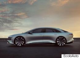 Lucid Motors Air: une rivale de taille pour la Tesla Model S