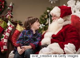 Mon père était vraiment le père Noël