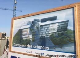 Le Complexe des sciences sort de terre à Montréal