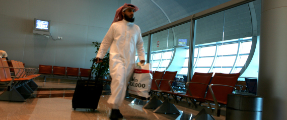 SAUDIS AT THE AIRPORT