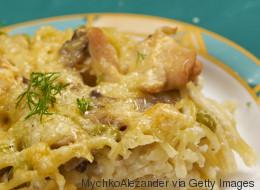 Il pollo alla Tetrazzini è il piatto americano entrato tra le 10 ricette più cercate in Italia