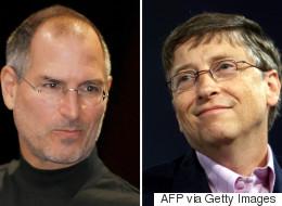 스티브 잡스와 빌 게이츠는 닮은 점이 꽤 많다