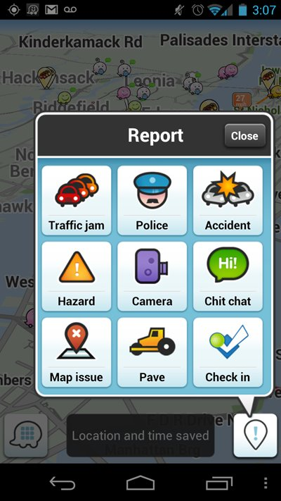 Waze, A Free GPS Driving App, Features Spoken Turn-By-Turn Directions And User