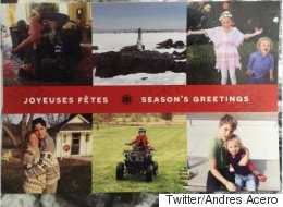 PM's Holiday Card Features Matchy Sweaters, Yoga And Adorable Kids