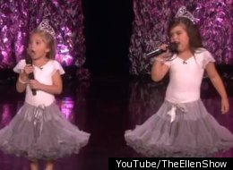 Sophia Grace And Rosie Rap Keri Hilson Ellen Show