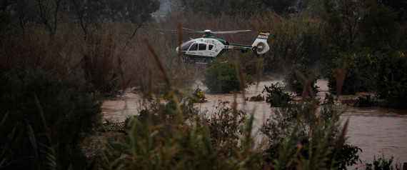 SPAIN FLOOD DECEMBER 2016