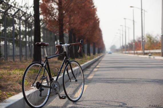 usar la bicicleta para no contaminar