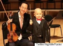 Boy Fighting Cancer Becomes Youngest Conductor In Edmonton History
