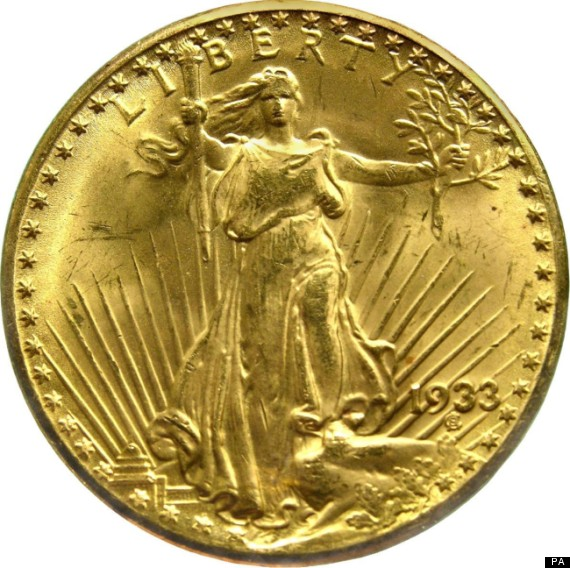 Rare Double Eagle Most Expensive Gold Coin Ever Made To