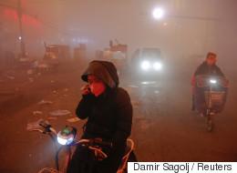 [화보] 중국 스모그는 인류 최후의 날을 연상시킨다
