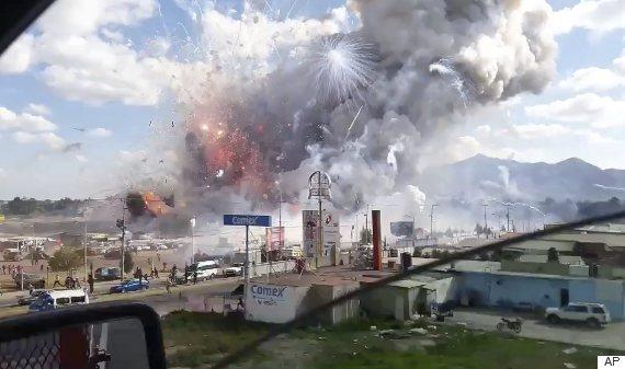 mexico city fireworks market