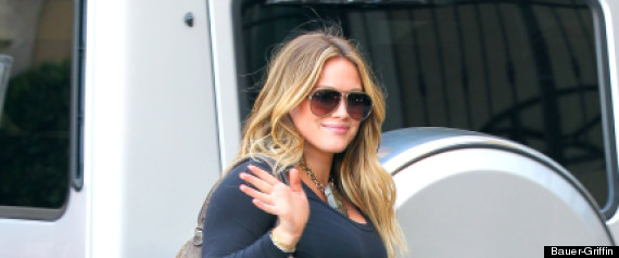 Hilary Duff Baby Bump