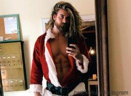 Ces pères Noël sexy vont vous garder au chaud