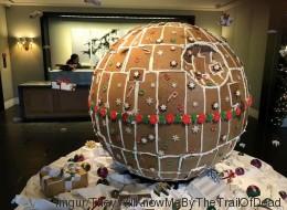 Star Wars: un génie a construit une «Étoile noire» en pain d'épices