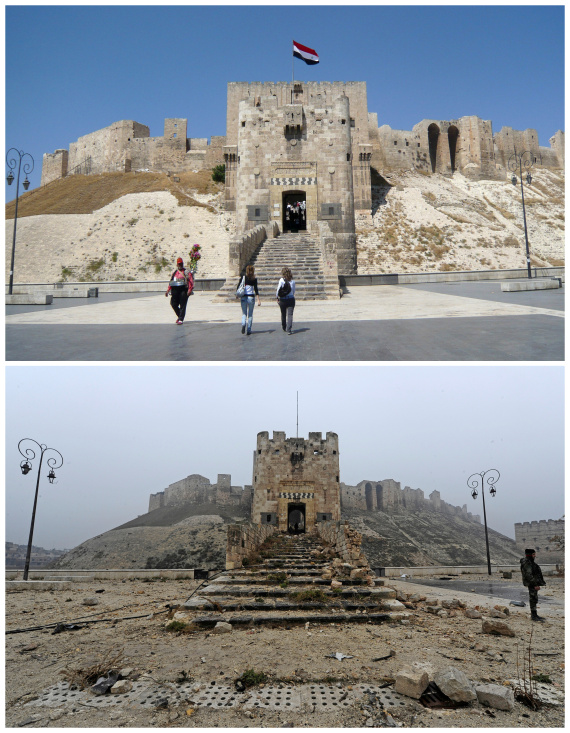 aleppo before and after