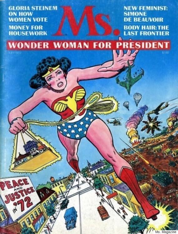 wonder woman ms magazine