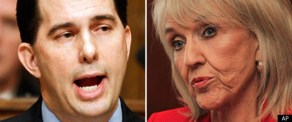 Scott Walker Jan Brewer