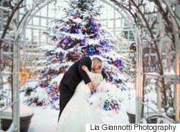 21 photos qui vous donneront le goût de vous marier durant les Fêtes