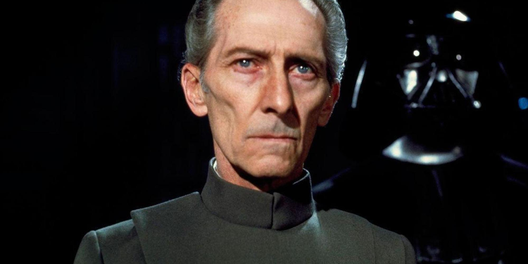peter cushing in rogue one
