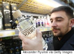 Boire en Russie: vodka, antigel et huile de bain
