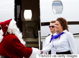 Pour célébrer Noël, ce pilote d'avion a vu les choses en grand