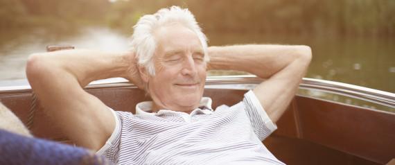 OLDER MAN NAPPING