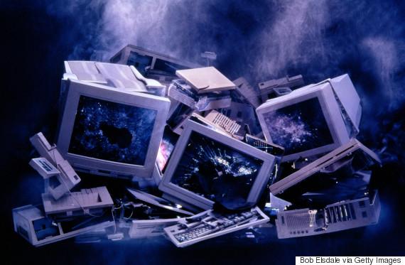 computer broken