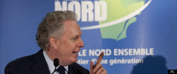 CHAREST PLAN NORD