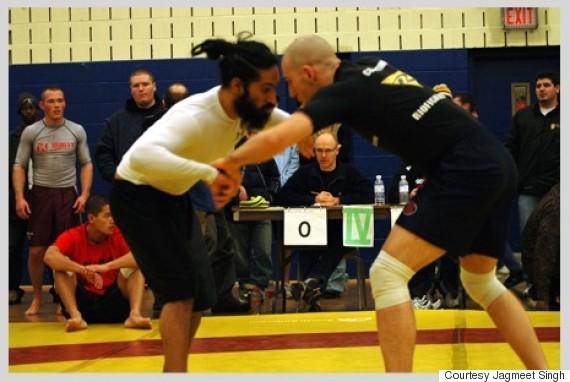 jagmeet singh wrestling