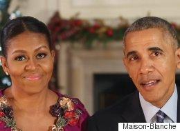 Le dernier message de Noël des Obama à la Maison-Blanche risque de vous émouvoir