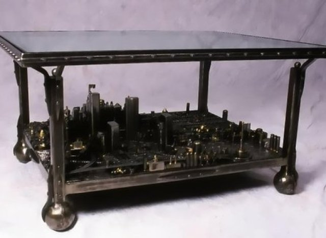 CustomMade Curator Cityscape Coffee Table HuffPost
