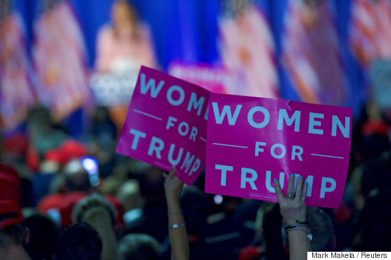 trump for women