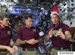 Le réveillon de Noël dans l'espace